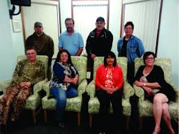 Gunn Métis Local 55 Council Members.