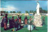 Title: Lac Ste. Anne Pilgrimage Postcard. Credits: Mission Press - Toronto, ON &  Alberta Beach & District Museum & Archives Society.